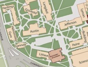 Harvard Campus superimpose